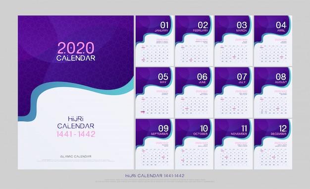 Islamski kalendarz 2020 islamski