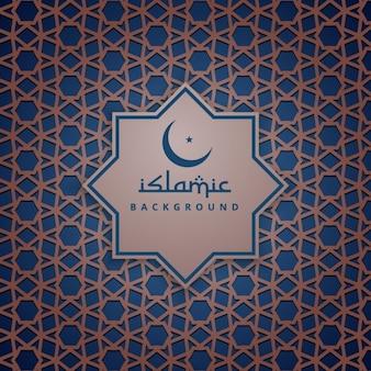 Islamski wzór tła wzór