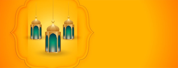 Islamski z arabskim wzorem latarni