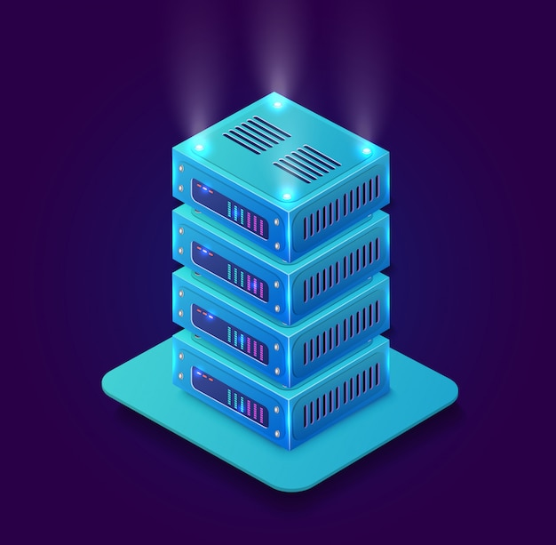 Isometric 3d blockchain