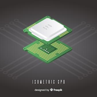 Isometric cpu