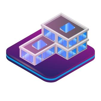 Isometric image gaming w wirtualnej rzeczywistości w 3d