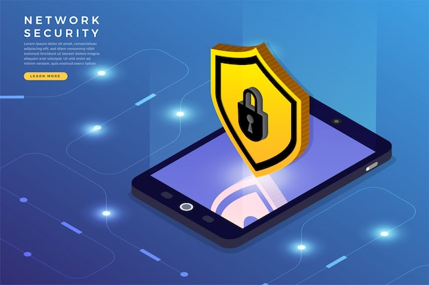 Isometric network security
