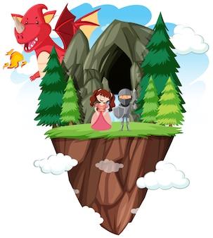 Izolowany świat fantasy