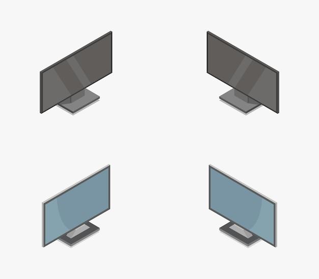 Izometryczna kolekcja telewizyjna