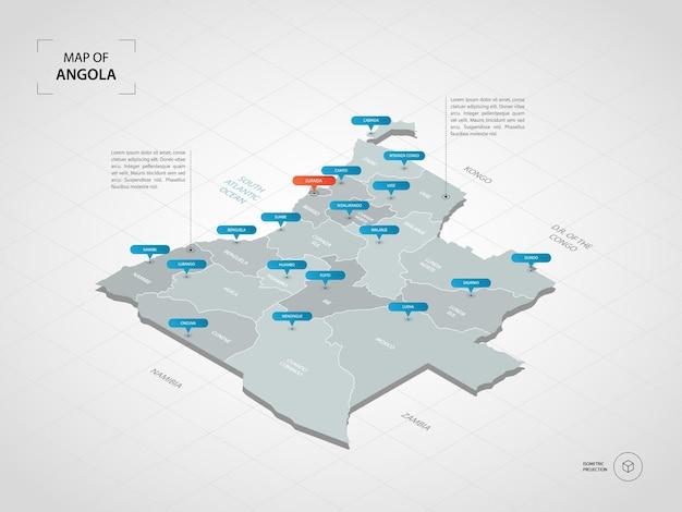 Izometryczna mapa angoli.