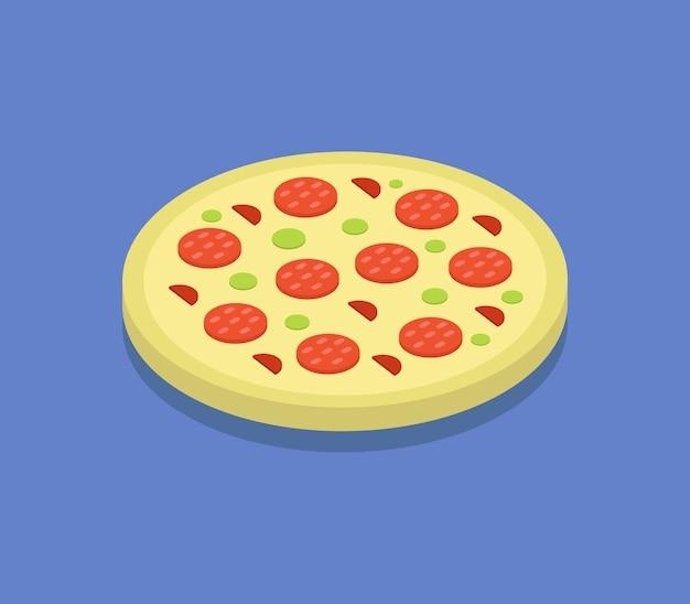 Izometryczna pizza