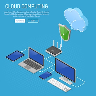Izometryczna technologia przetwarzania w chmurze