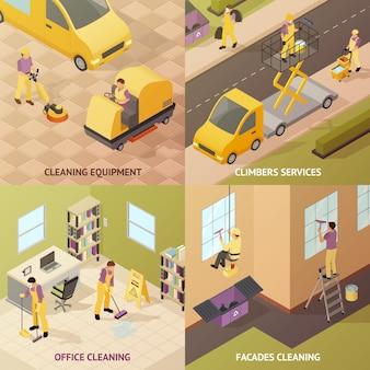 Izometryczne czyszczenie przemysłowe
