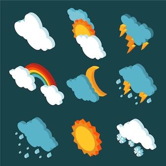 Izometryczne efekty pogodowe