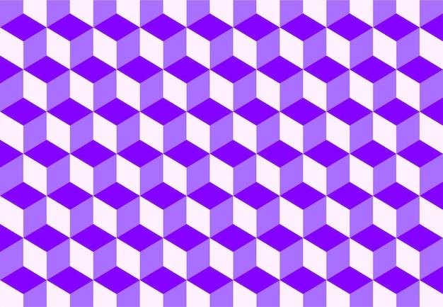 Izometryczne kolorowe tło wzór kostki. ilustracja wektorowa