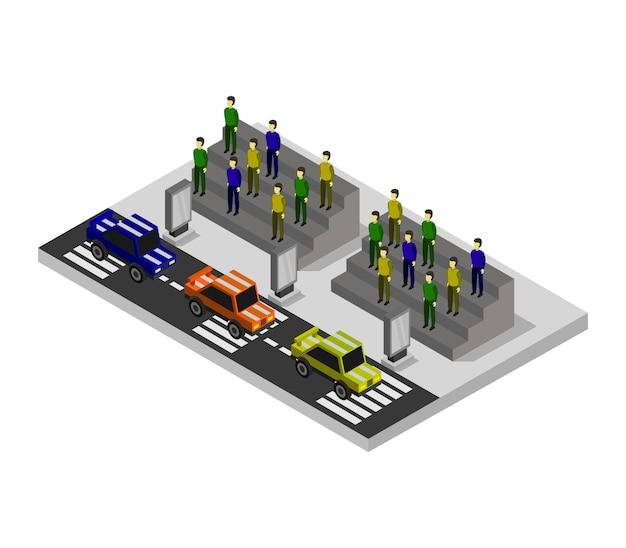 Izometryczne samochody wyścigowe