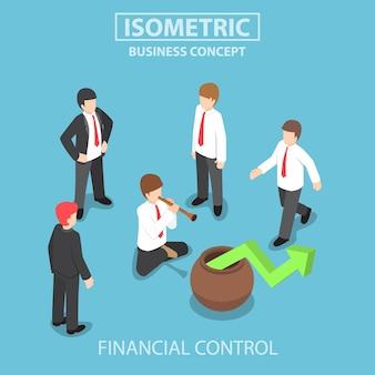 Izometryczne zarządzanie biznesem i finansami