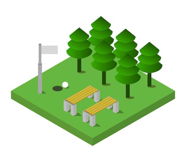 Izometryczny golf
