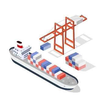 Izometryczny ładunek statku