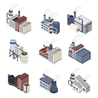Izometryczny przemysł budowlany