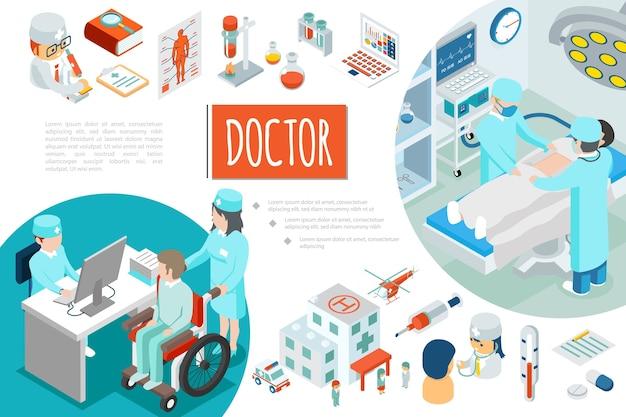 Izometryczny skład medycyny