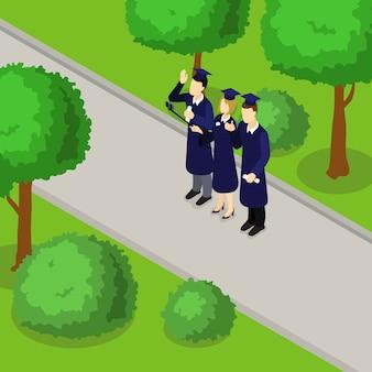 Izometryczny skład studentów edukacji