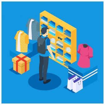 Izometryczny sklep internetowy