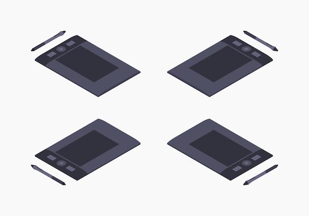 Izometryczny tablet graficzny