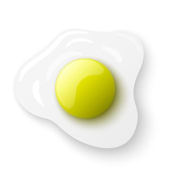Jajko sadzone. omlet.