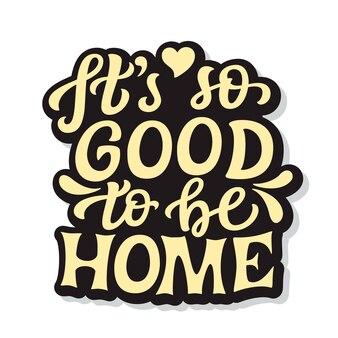 Jak dobrze być w domu
