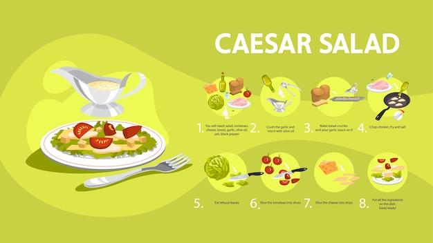 Jak gotować sałatkę cesarską w domu