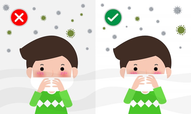 Jak nosić maskę chirurgiczną w celu ochrony drobnego pyłu