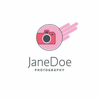 Jane doe różowy fotografia logo