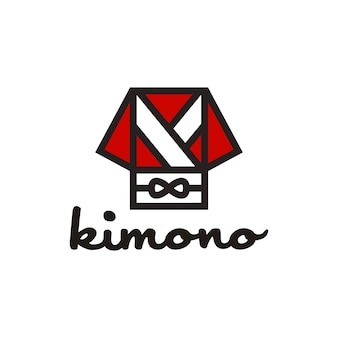 Japan japoński orientalny szlafrok kimono z logo obi