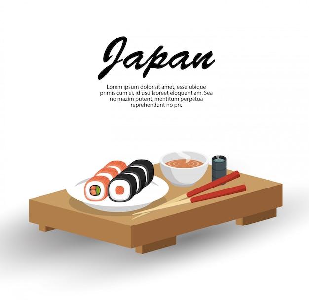 Japonia podróży tradycyjne potrawy