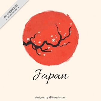 Japonia wzór tła