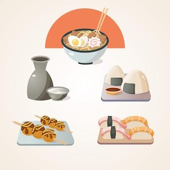 Japońska kolekcja żywności