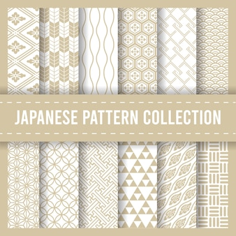 Japoński tradycyjny wzór