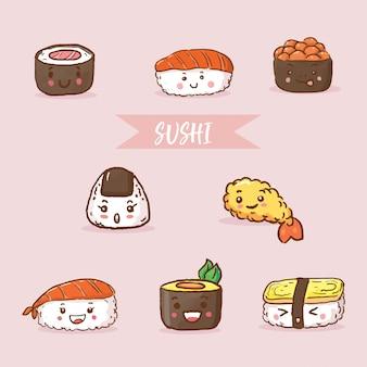 Japońskie jedzenie sushi