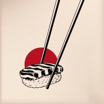 Japońskie wektory stylu tradycji