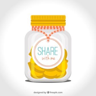 Jar z monet o darowizny