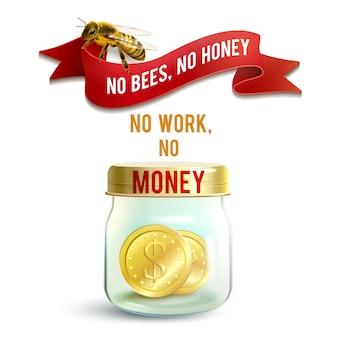 Jar z pieniędzmi
