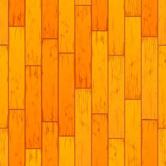 Jaskrawe żółte drewniane deski w rzędu bezszwowym wzorze