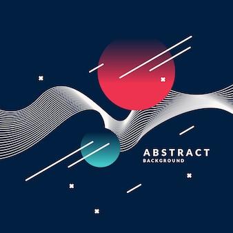 Jasne abstrakcyjne tło z dynamicznymi falami, w minimalistycznym stylu.