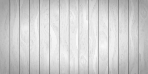 Jasne białe realistyczne drewniane deski z tekstury