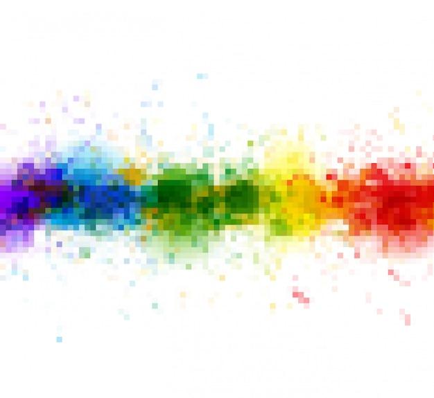 Jasne farby akwarelowe plamy tło