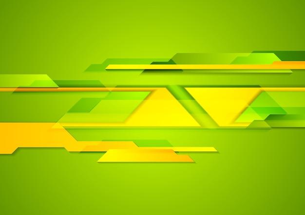 Jasne geometryczne kształty tech tło. projekt wektorowy