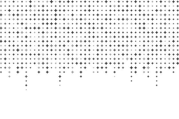 Jasne gwiazdy tło w płaska konstrukcja