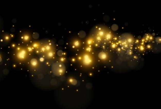 Jasne piękne gwiazdy czarne tło