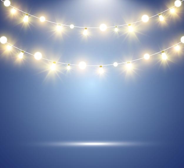 Jasne, piękne światła, elementy wystroju.