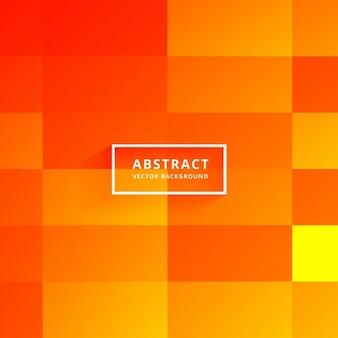 Jasne płytki pomarańczowy abstrakcyjne tło