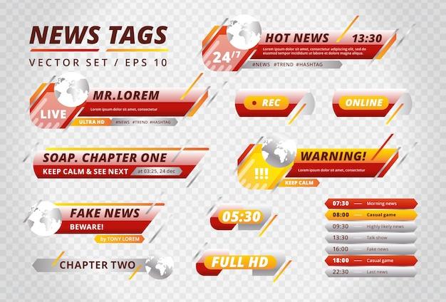 Jasne tagi dla kanałów informacyjnych