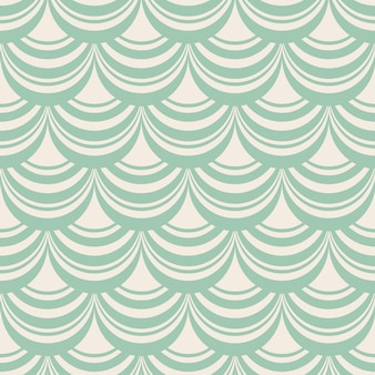 Jasnoniebieski stylowy abstrakcyjny bez szwu powtarzalny wzór z kompozycją dekoracyjnych splotów jako roleta okna