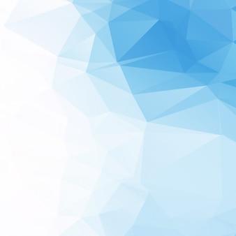 Jasnoniebieskie tło geometryczne